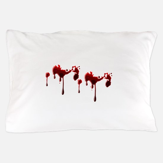 Blood Spatter Pillow Case