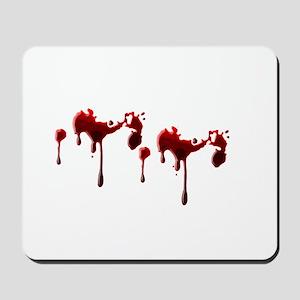 Blood Spatter Mousepad