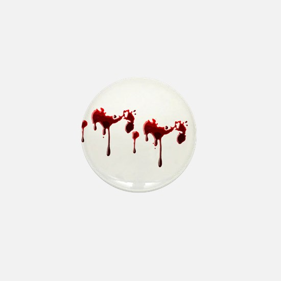 Blood Spatter Mini Button
