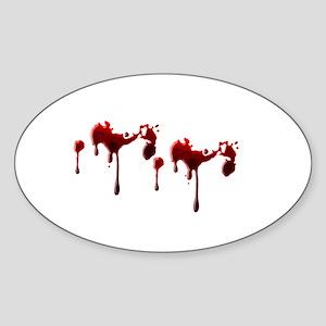 Blood Spatter Sticker