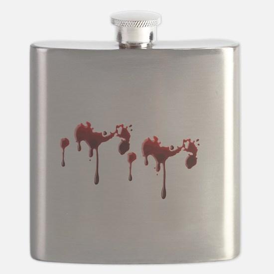 Blood Spatter Flask