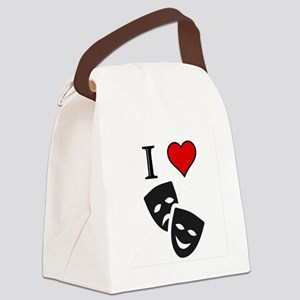 Theatre Canvas Lunch Bag