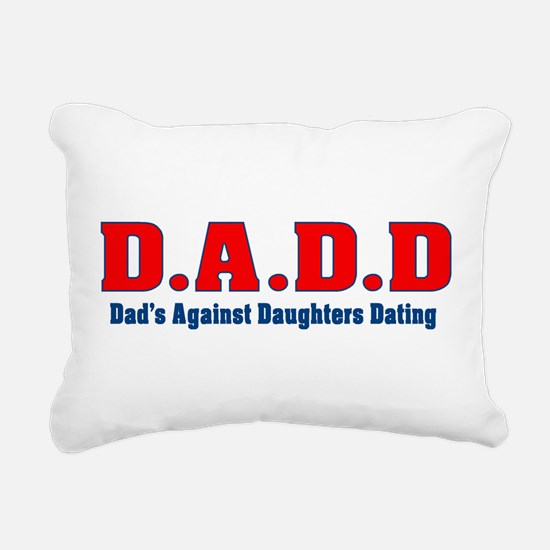 D.A.D.D Rectangular Canvas Pillow