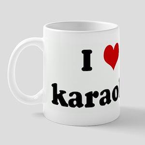 I Love karaoke Mug