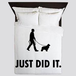 American Cocker Spaniel Queen Duvet