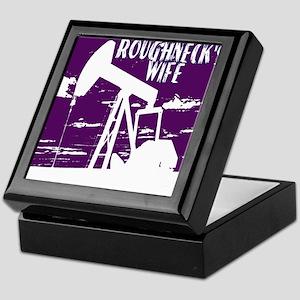 Roughnecks Wife- Purple Keepsake Box