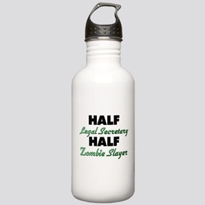 Half Legal Secretary Half Zombie Slayer Water Bott