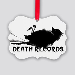 Death Records Ornament