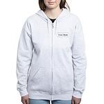 Custom Name Women's Zip Hoodie