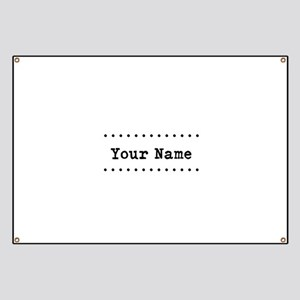personalized name banners cafepress