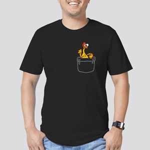 Rubber Chicken in a Pocket T-Shirt