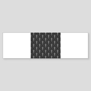 Decorative - Art - Skulls Bumper Sticker