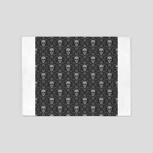 Decorative - Art - Skulls 5'x7'Area Rug