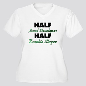 Half Land Developer Half Zombie Slayer Plus Size T