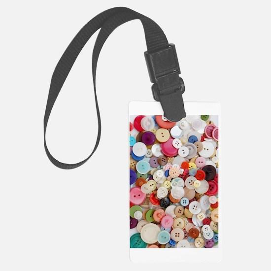 Button, Button Luggage Tag