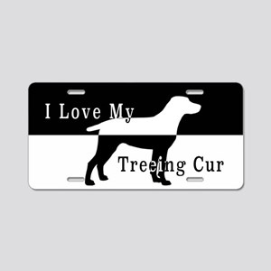 Treeing Cur Aluminum License Plate