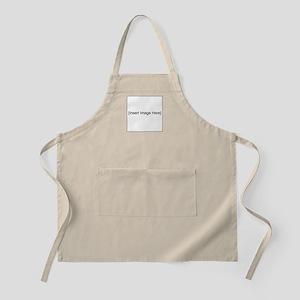 Text & Image Shirt Apron