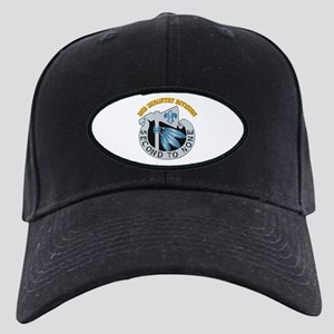 DUI - 2nd Infantry Division with Text Black Cap