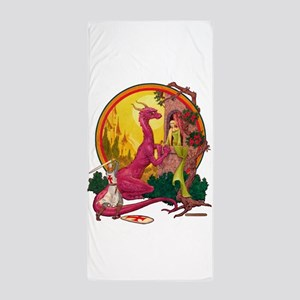 St.George and the Dragon Beach Towel