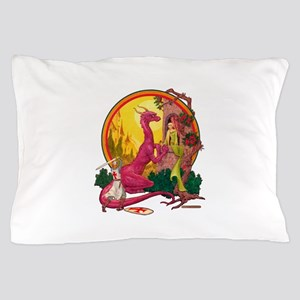 St.George and the Dragon Pillow Case