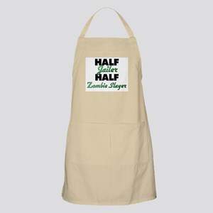 Half Jailer Half Zombie Slayer Apron