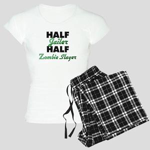 Half Jailer Half Zombie Slayer Pajamas