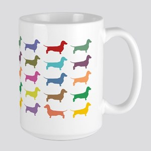 Dachshunds, Dachshunds, Dachs Large Mug