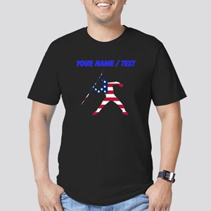 Custom American Flag Javelin Throw T-Shirt