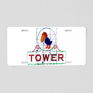 The Jayhawk Aluminum License Plate