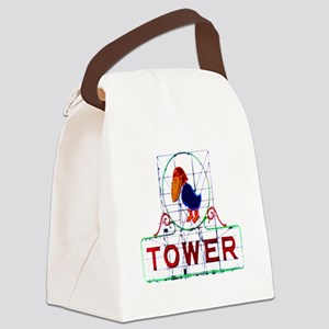 The Jayhawk Canvas Lunch Bag