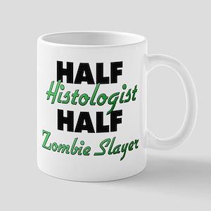 Half Histologist Half Zombie Slayer Mugs