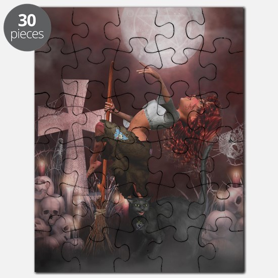Little Witch 2 Puzzle