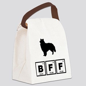 American Eskimo Canvas Lunch Bag