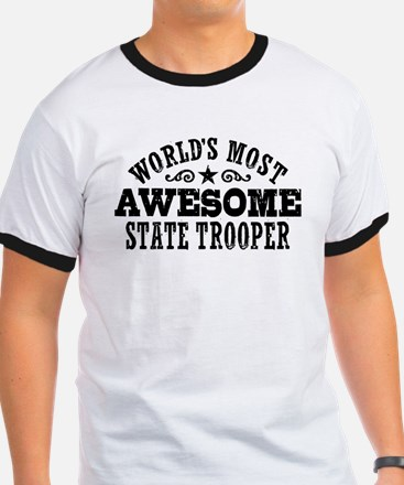 World's Most Awesome State Trooper T