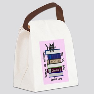 Cat Lover Canvas Lunch Bag