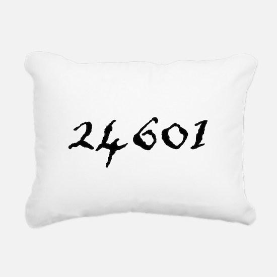 Prisoner Number Rectangular Canvas Pillow