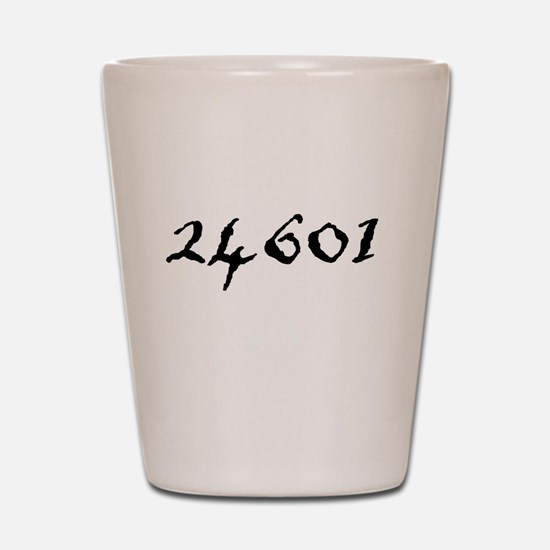 Prisoner Number Shot Glass