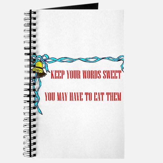 SWEET WORDS Journal