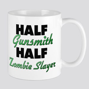Half Gunsmith Half Zombie Slayer Mugs