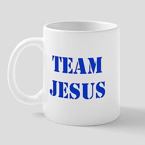 Blue Team Jesus Mug