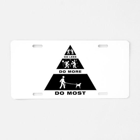 American Foxhound Aluminum License Plate