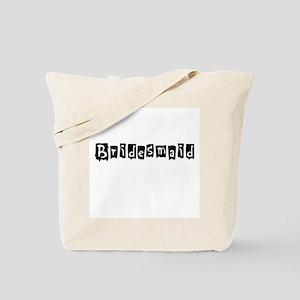 Bridesmaid Newspaper Tote Bag