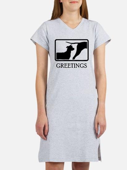 Pit bull Terrier Women's Nightshirt