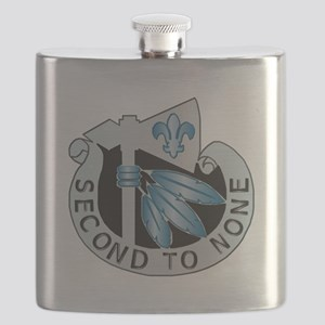 DUI - 2nd Infantry Division Flask