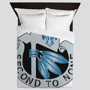 DUI - 2nd Infantry Division Queen Duvet