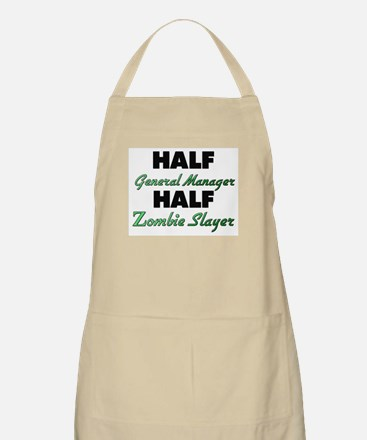 Half General Manager Half Zombie Slayer Apron