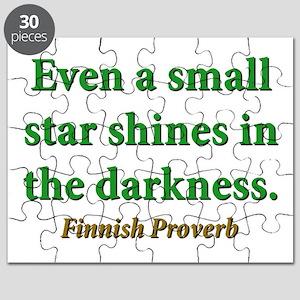 Even A Small Star Shines Puzzle
