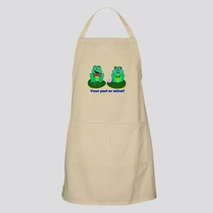 Frogs - Your pad or mine? Apron