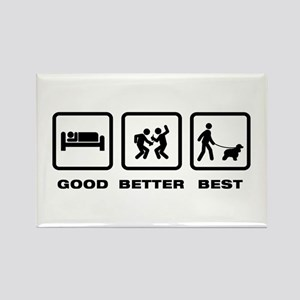 American Water Spaniel Rectangle Magnet