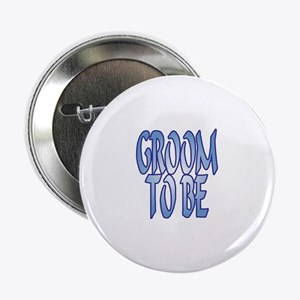 Groom To Be Wedding Button